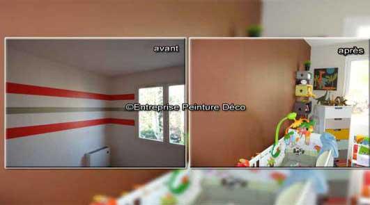 Décoration chambre de garçon enfant 4 ans Petits surface10m2