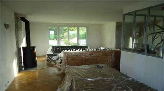 athis mons entreprise de peinture devis travaux r novation salon. Black Bedroom Furniture Sets. Home Design Ideas