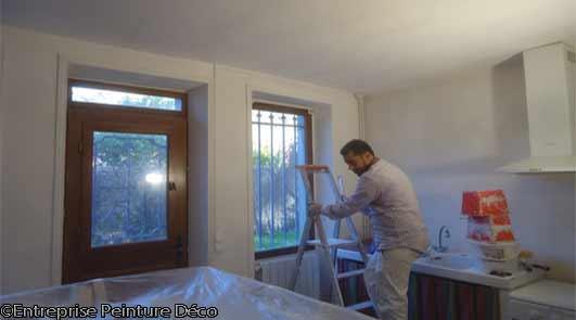Entreprise de peinture travaux de décoration Essonne Linas 91310