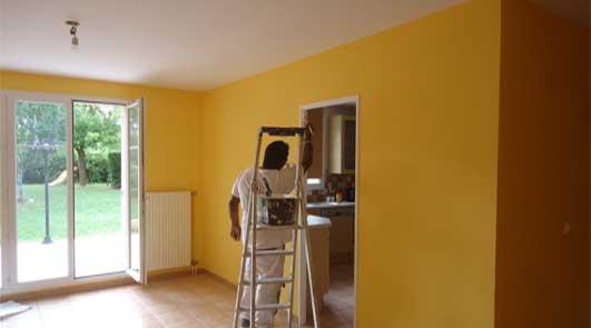 Peintre rénovation intérieur de maison ancienne et entreprise à Le Marcoussis
