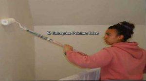 comment peindre plafond et murs de couleur differente
