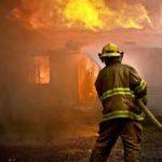 Sinistre incendie de la maison