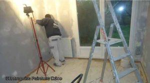Travaux de peinture intérieur