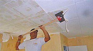 Devis peinture plafond m2