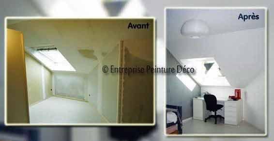 Devis Rénovation d'un studio aménagement 25m2 en décoration