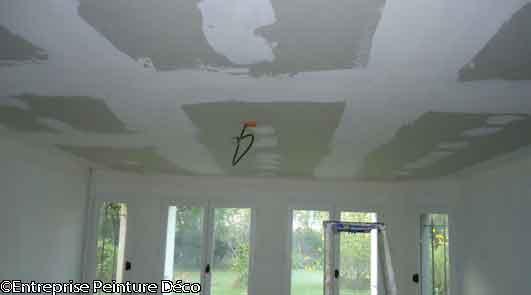 peindre placo ba13 sans sous couche peinture plaque de platre. Black Bedroom Furniture Sets. Home Design Ideas