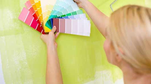 Préparation et application de la peinture résine époxy sol