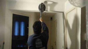 Préparer un mur intérieur petite surface abimé