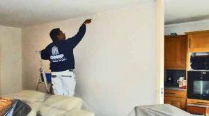 Peindre vos murs sans toucher le plafond