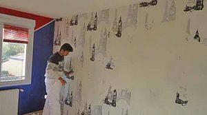 comment enlever papier peint mur