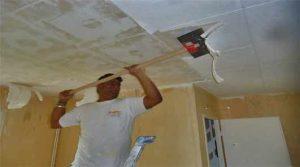 peinture blanche pour plafond mat ou satin